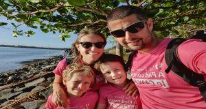 Les Dunien Zil: à pied contre le Cancer