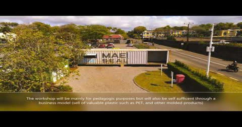 Freedom Plastic - A Precious Plastic inspired project in Mauritius